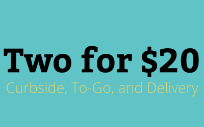 New Two for $20 Menu